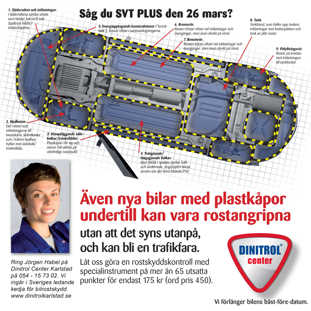 SVT Plus Rostangrepp